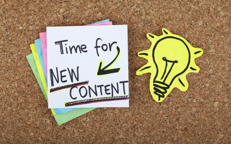 Time For New Content: Ideas For Your Healthcare Blog