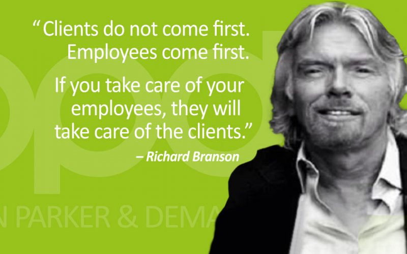 Richard Branson Quote About Putting Employees First